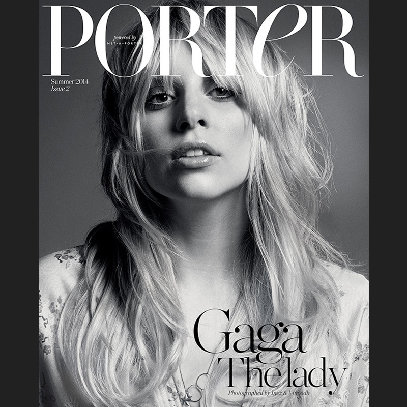 Stripped down and more stunning than ever, Lady Gaga went au natural for Porter's second issue.