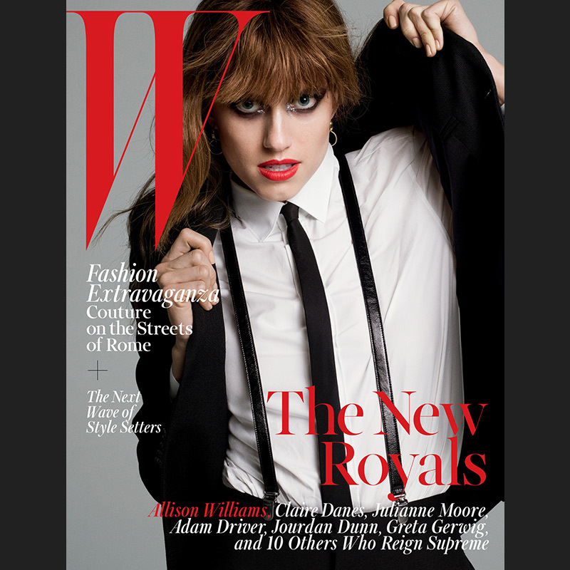 Newlywed Allison Williams was one of W magazine's October 2015 New Royals, though we might not have guessed it at first glance given the 'GIRLS' star's glam-rock vibe.