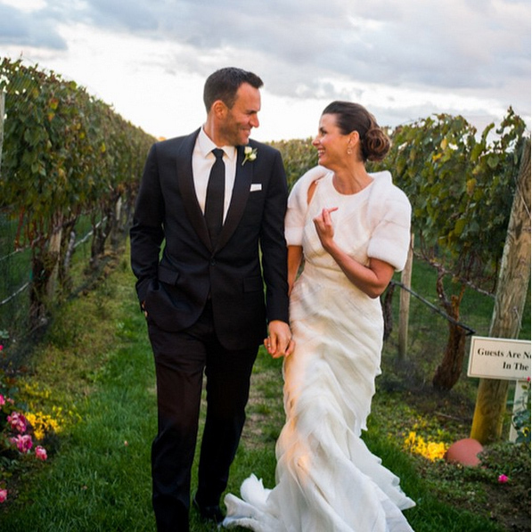 Bridget Moynahan and Andrew Frankel