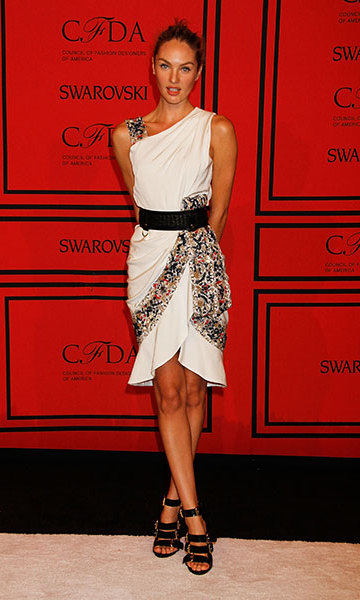 At the 2013 CFDA awards.