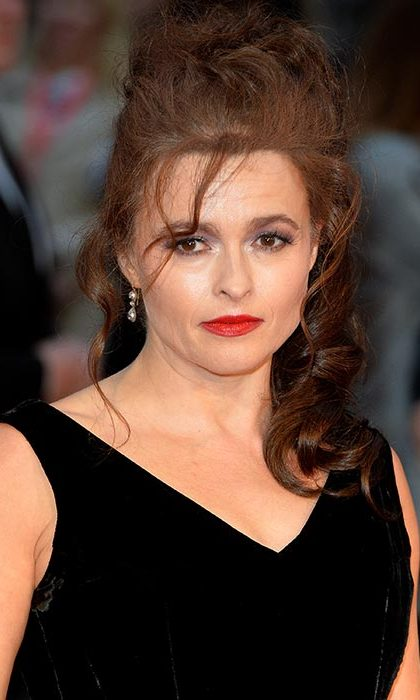 Helena Bonham Carter showed off her edgy beauty credentials with a statement red lipstick and classic smokey eye make-up for the Suffragette premiere.