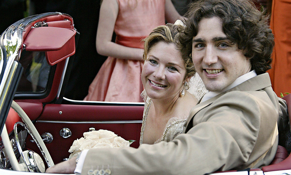 Justin Trudeau And Sophie Grgoire The Love Story Of