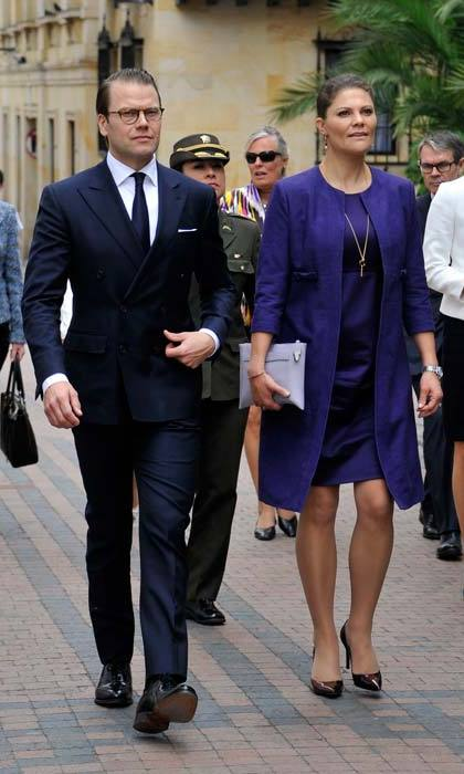 Prince Daniel and Crown Princess Victoria.