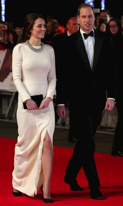 It was a high-profile date night for radiant Kate and Prince William, who attended the Europe and UK premiere of 'Mandela: Long Walk to Freedom' at Leicester Square on December 5, 2013. 