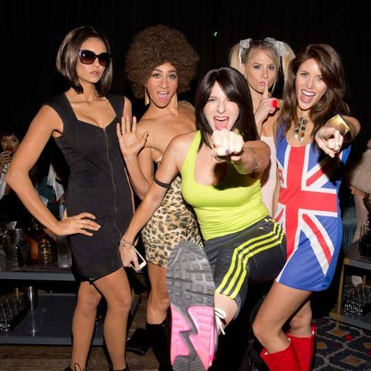 Celebrity Nursery Design Reveal Mel B: Nina Dobrev Plays Victoria Beckham In Spice Girls Costume