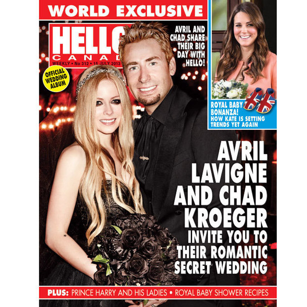 "After just two years of marriage, Canadian couple Avril Lavigne and Chad Kroeger parted ways in Sept. 2015. Hello! was there when the musical duo said ""I do"" during a stunning ceremony in France on Canada Day in 2013."