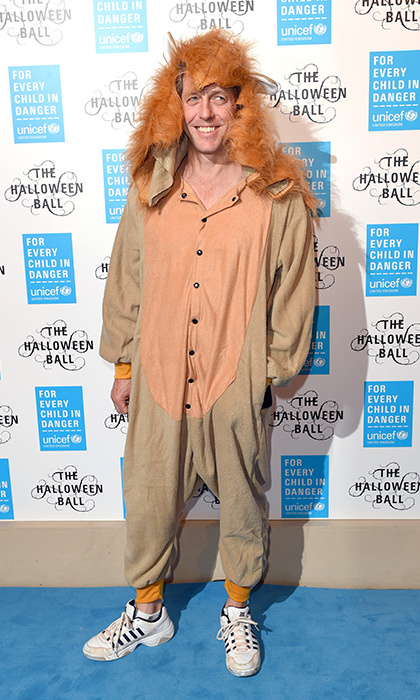 Hugh Grant at the Unicef Halloween Ball. 