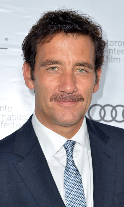 Here in 2013 at TIFF, Clive Owen rocks the preferred facial hair of his small-screen character, Dr. John Thackery, on the highly acclaimed medical drama 'The Knick.'