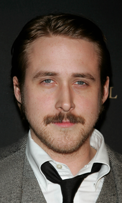 Even this moustache can't contend with Ryan Gosling's heartthrob status. The actor sported the look at a 2006 gala, we suspect because he was filming 'Lars and the Real Girl' at the time.