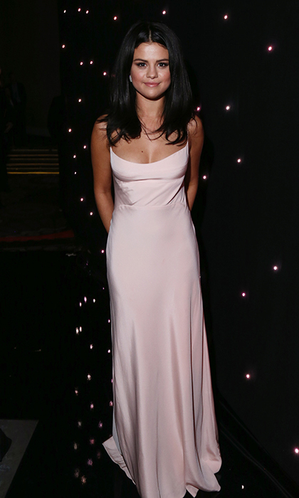 Selena Gomez in Narciso Rodriguez 