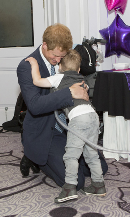 Carson Hartley, 4, and Prince Harry became quick friends at the WellChild Awards in 2014. The toddler won both a hug and the Inspirational Child Award during the exciting event, which honoured children suffering from serious diseases. Upon learning of his passing in 2015, Harry sent a heartwarming letter of condolence to Carson's family.  
