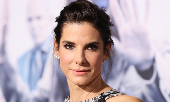 Sandra Bullock is loving life as mother to five-year-old Louis above all else.