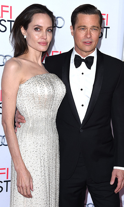 NOVEMBER 2015: Brad and Angelina dazzled at AFI Fest in Los Angeles, earning their style credentials as a couple once more while making a black-tie appearance to premiere 'By the Sea.' 