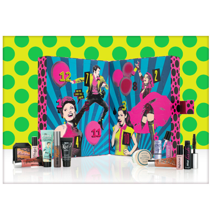 Benefit Party Poppers Makeup Set, $45, <em>benefitcosmetics.com</em> 