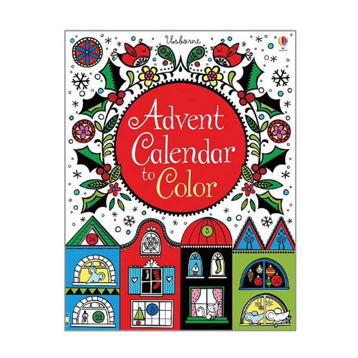 Advent Calendar to Color, $10.95, <em>indigo.ca</em>