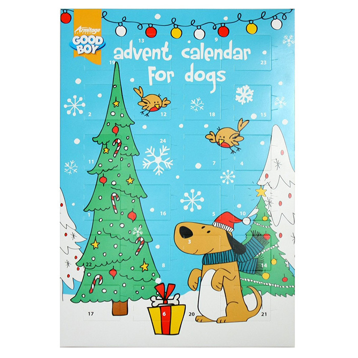 Good Boy Dog Advent Calendar, $37, <em>amazon.ca</em> 