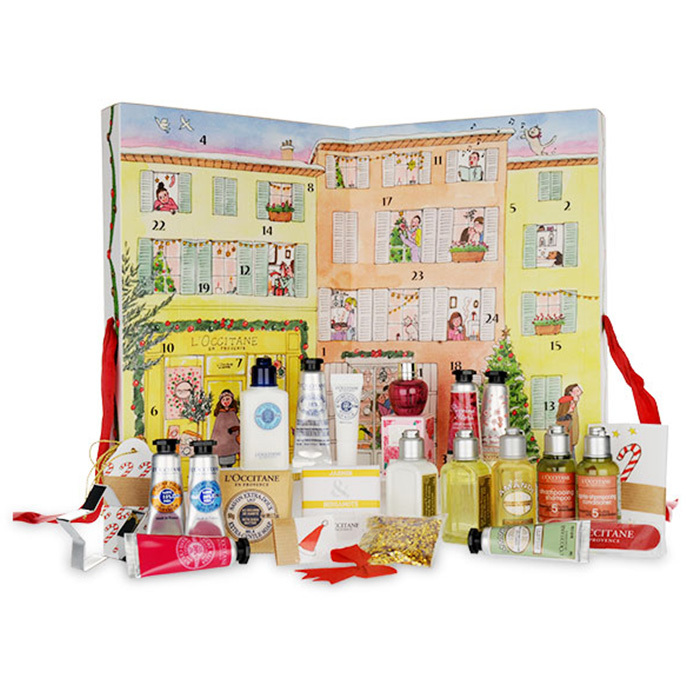 L'Occitane En Provence Advent Calendar, $49, <em>ca.loccitane.com</em> 