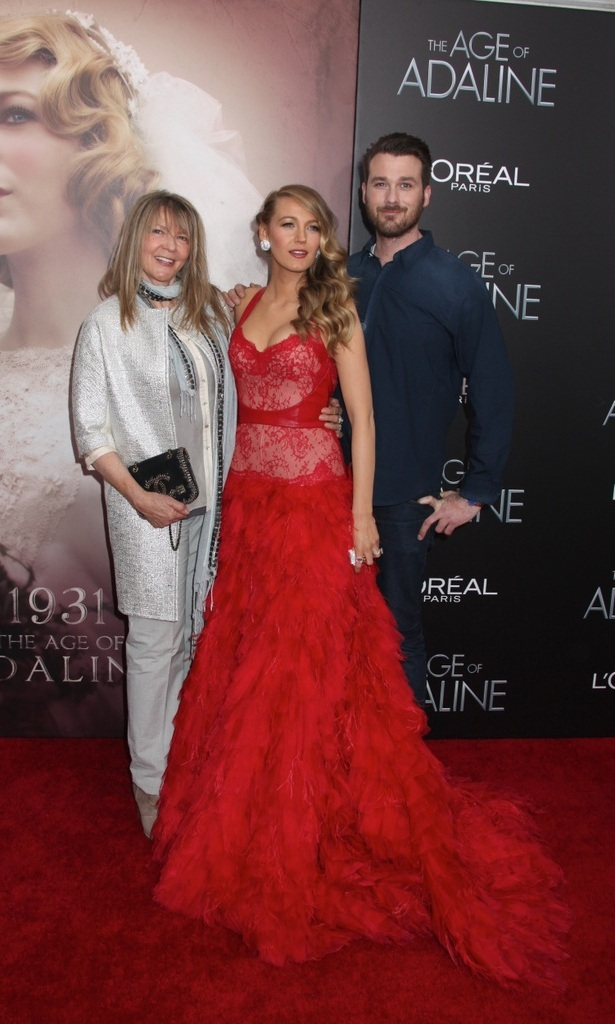 <h2>Blake Lively and Eric Lively</h2>