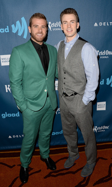 <h2>Chris Evans and Scott Evans</h2>
