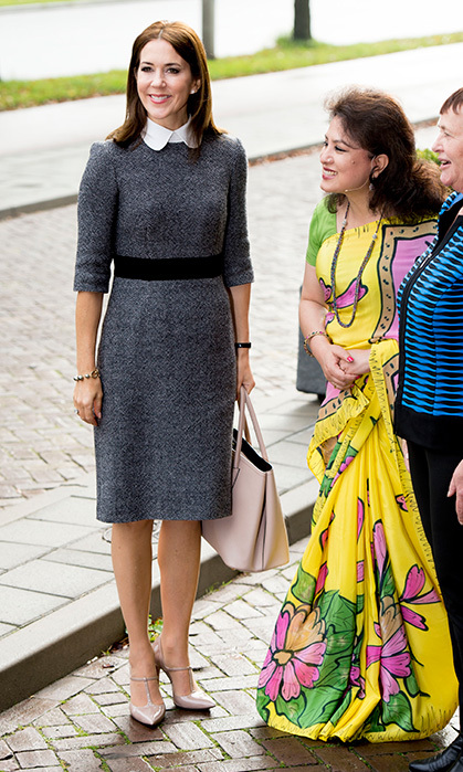 Princess Mary of Denmark attending the 3rd World Conference on Women's Shelters in The Hague.