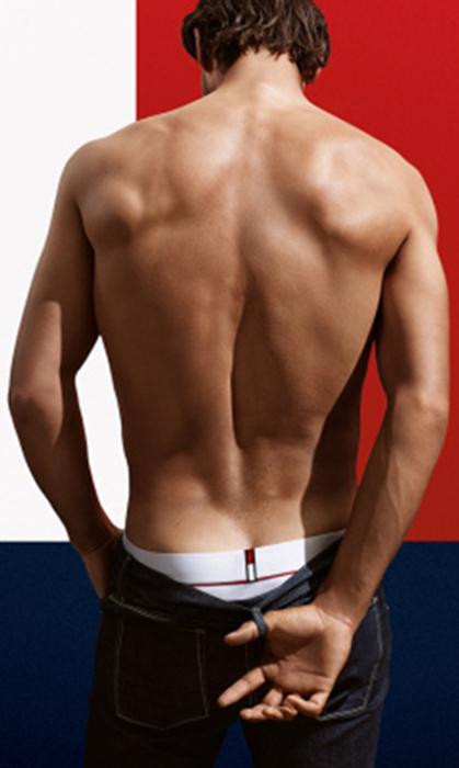 Tommy Hilfiger x Rafael Nadal Low Rise Cotton Flex Trunk, USD $29, tommy.com. 