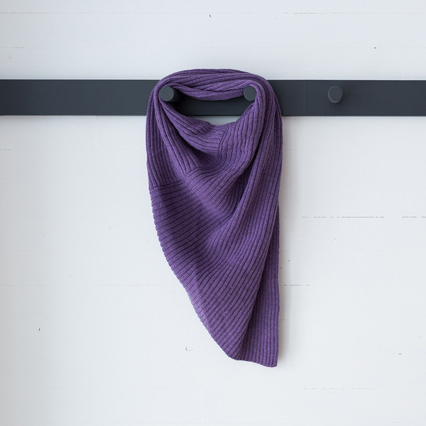 Scarves Designed by Paddye Mann, $650 each, fogoislandshop.ca. All Fogo Island Shop items are Gifts that Give Back as part of the charity Shorefast Foundation. 