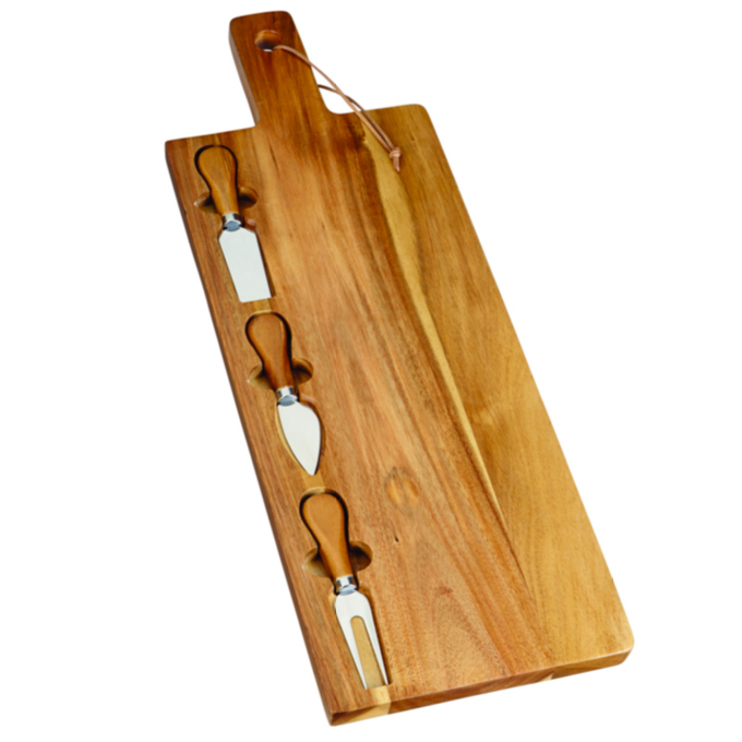 PC Acacia Wood Cheese Board Set, $26, realcanadiansuperstore.ca