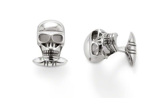 Thomas Sabo Rebel at Heart Cufflinks, $259, thomassabo.com/ca. 