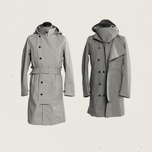 Norwegian Rain Jacket, $856, norwegianrain.com. 