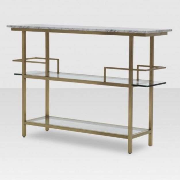 Elte Marquis Bar Cart, $2,844.80, elte.com. 
