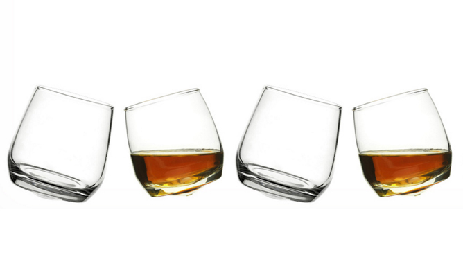 EQ3 Bar Whiskey Glasses 6 Pack, $25, eq3.com/ca. 