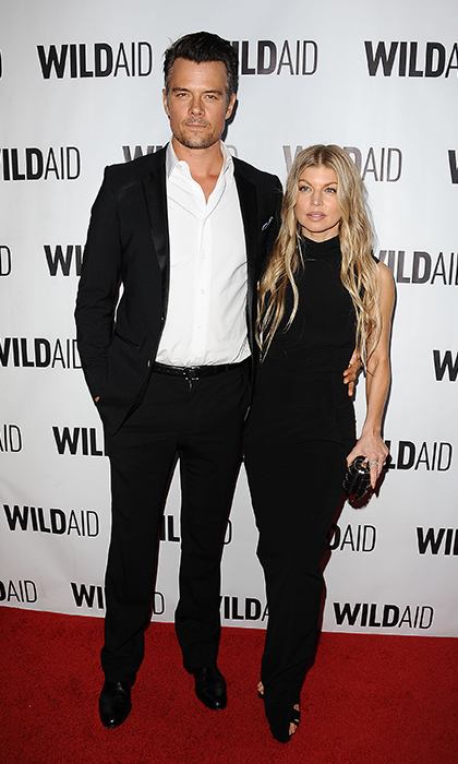 Josh Duhamel and wife Fergie were a perfectly coordinated pair at the WildAid gala in Beverly Hills. 