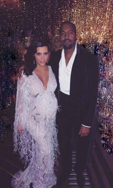 Kim and Kanye.