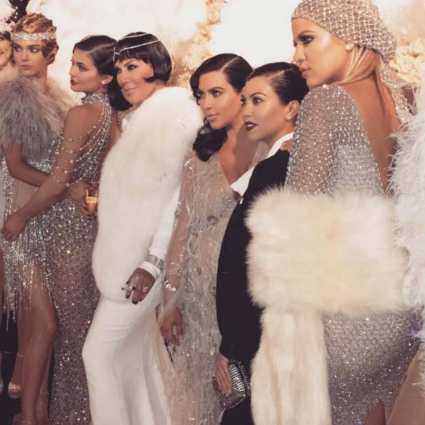 Kris Jenner Celebrated Her 60th Birthday In Style At The Weekend Throwing A Great Gatsby