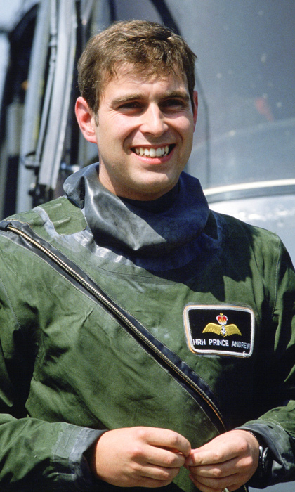 During his time flying for the Royal Navy, Prince Andrew embarked on numerous types of missions including anti-submarine warfare and search and rescue.