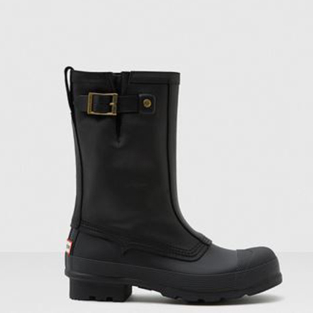 Men's Original Biker Boots, $209, ca.hunterboots.com. 