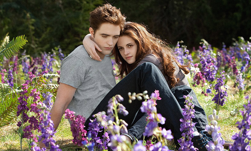 <h2>Kristen Stewart and Robert Pattinson</h2>
