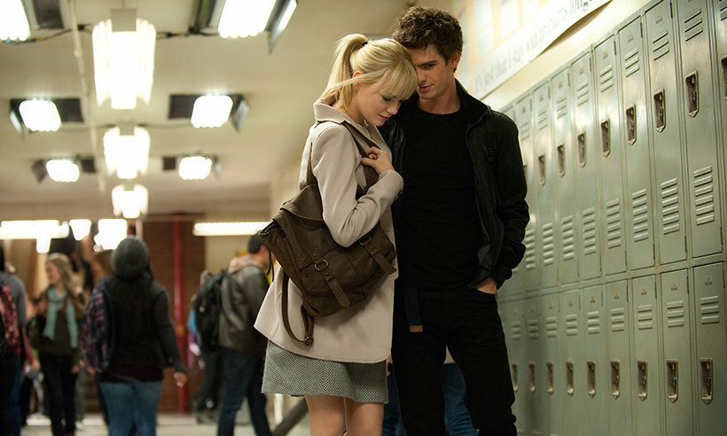 <h2>Emma Stone and Andrew Garfield</h2>