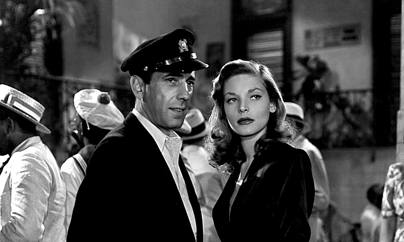 <h2>Lauren Bacall and Humphrey Bogart</h2>