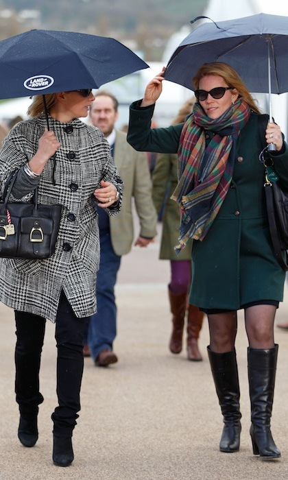 Zara Tindall and Autumn Phillips