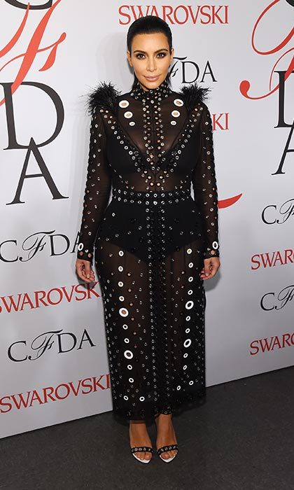 High fashion in a Proenza Schouler gown for the CFDA awards