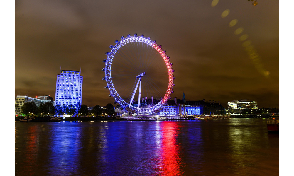 <strong>The London Eye, United Kingdom</strong><br>