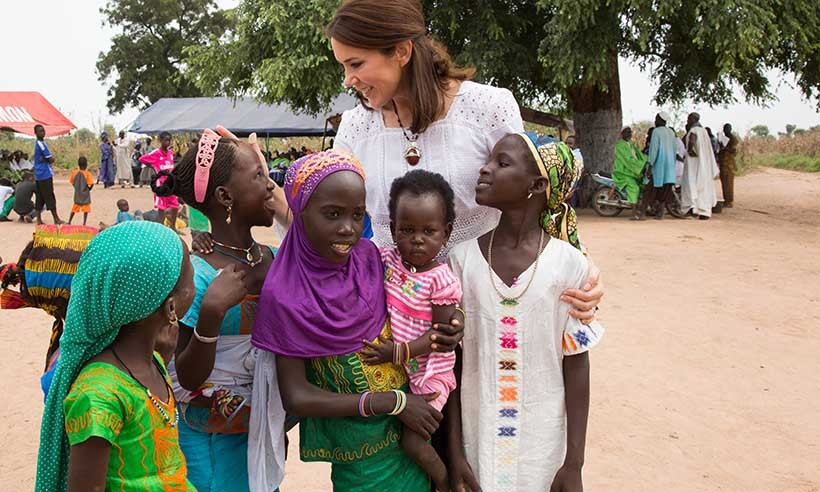 Crown Princess Mary of Denmark spent some quality time with young people in Senegal as part of her four-day visit with charities Tostan and Orchid Project, with whom she was helping to bring awareness to women's rights.