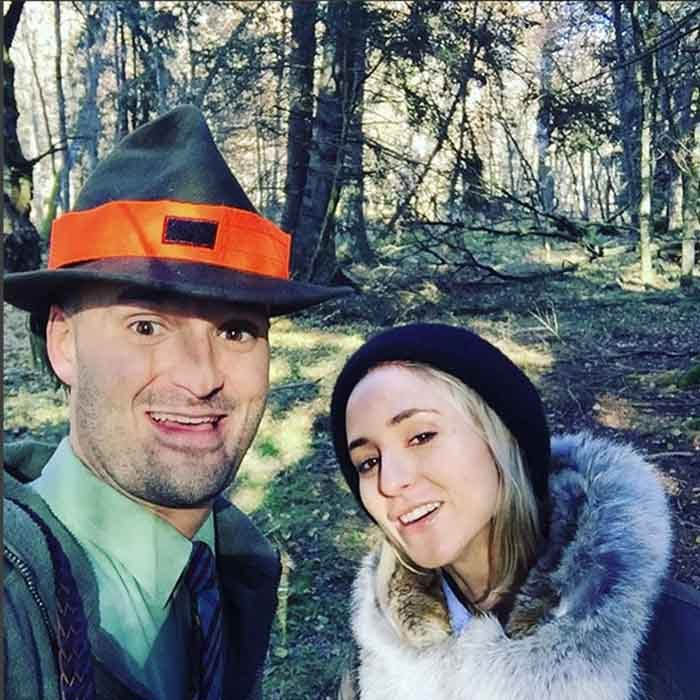 <em>Vogue</em> columnist Elisabeth von Thurn und Taxis, better known as Elisabeth TNT, escaped the luxuries of her aristocratic life for a stroll through the forest with her brother. 