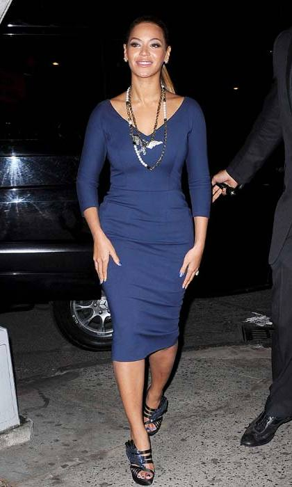 <strong>Beyoncé</strong> was spotted supporting the designer in 2012, wearing this dress for a dinner with her sister, Solange.