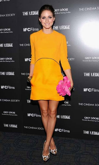<strong>Olivia Palermo</strong> is one of the world's biggest style-setters, so it's no wonder the socialite favours Victoria's designs. Here in June 2011.
