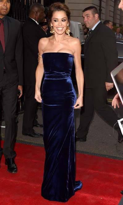 <strong>Cheryl Fernandez-Versini</strong> has been championing Victoria Beckham for years. The pint-sized popstar attended the Pride of Britain awards in September wearing this midnight-blue velvet dress.
