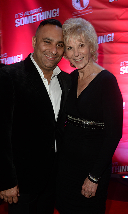 Russell Peters and Pat Brown<br>