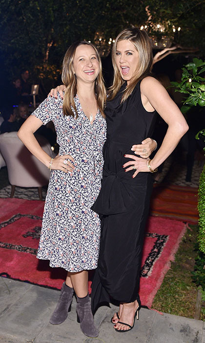 <p>Jennifer Aniston hosts a special dinner for best gal pal Jennifer Meyer to help celebrate the launch of the jewelry designer's collaboration with Barneys New York.</p> 