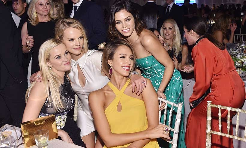 <p>Reese Witherspoon, Kelly Sawyer, Jessica Alba and Jenna Dewan Tatum enjoy a girls' night out at the Baby2Baby gala in Los Angeles. </p>